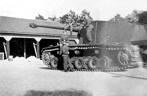 Sturer Emil heavy tank destroyer, post-1943, photo 2 of 2