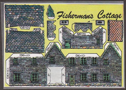 Details About X2600 Cut Out Postcard The Fisherman S