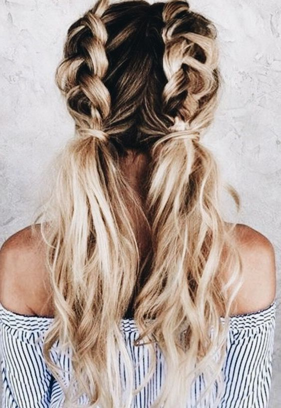 31 Best Trendy And Beautiful Twisted Rope Braid Blonde