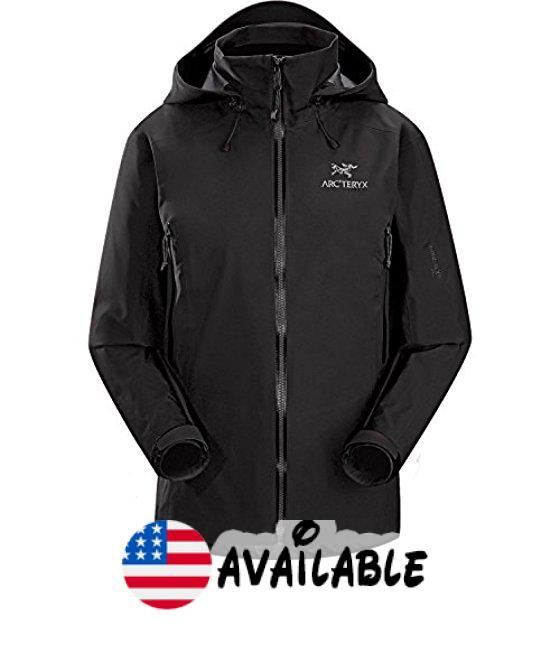 Arc Teryx Beta Lt Hybrid Jacket Women S Black Large Compact Lightweight Gore Tex Fabric With Paclite Technology Used In Jackets Arc Teryx Jackets For Women