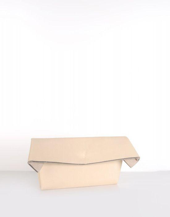 Maison Martin Margiela: Home, Woman, Bags Purses, Bags Clutches, Bag Shoes Hat Sunglasses, Leather, Clutch Bags, Bags Shoes