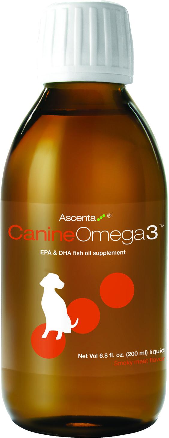 Canine-Omega3 :huile de poisson de haute qualité avec un rapport équilibré EPA + DHA, complément idéal pour la santé optimale et le bien-être des chiens de tous âges et races. Les avantages des acides gras oméga-3 chez les chiens : -Santé des articulations-Santé de la peau et du pelage-croissance et reproduction-santé cardiovasculaire et l'endurance-santé du système immunitaire-200 ml / 18.99$