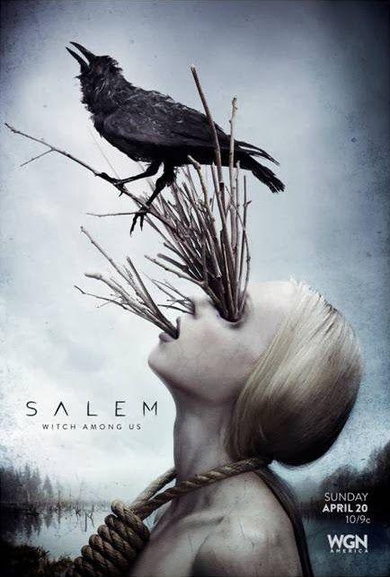 """""""Salem"""" e seus novos e arrepiantes cartazes - Trilha Do Medo † Entretenimento de Arrepiar"""
