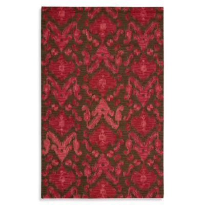 Nourison Siam Rug in Brown/Red - BedBathandBeyond.com