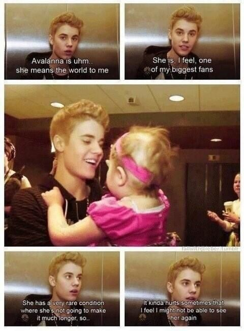 everyone thinks JB is so bad. i dont see anyone else saying things like this.  Avalanna she will be forever loved by all beliebers.