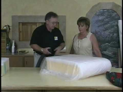 DIY - Amazing!!! How to replace worn out foam in your couch cushions - by Upholstery Studio via youtube.com
