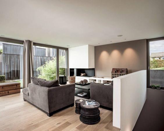 Moderne Wohnzimmer Bilder Objekt 255 - architekt wohnzimmer