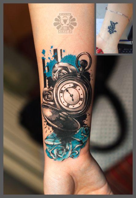 Pocket watch tattoos beautiful tattoos and streetwear brands on