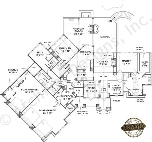 House Plans Rustic Floors And Floor Plans On Pinterest