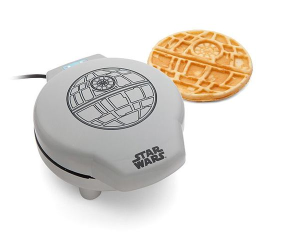 The Battle For Breakfast: Get A Death Star Waffle Maker ... see more at Inventorspot.com
