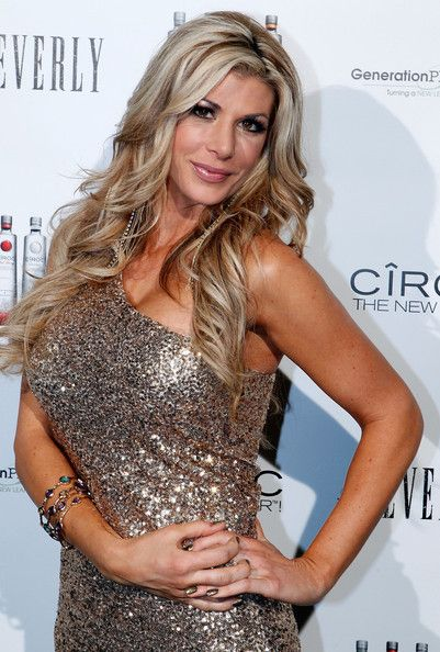 RHOC Alexis Bellino..not a fan of hers, but her hair looks amazing.