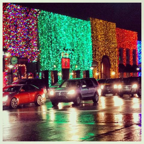 Do you like big holiday light displays like this one in Rochester, MI? Vote now on HGTV's Design Happens blog! (http://blog.hgtv.com/design/2013/12/20/christmas-holiday-lights-display-trend/?soc=pinterest)