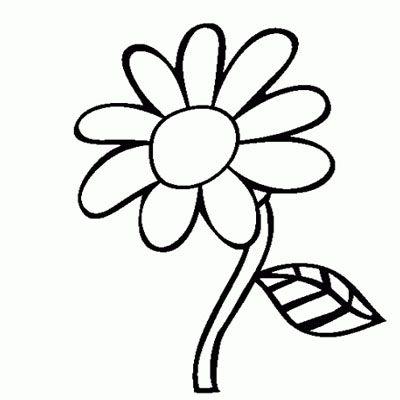 81 Gambar Kartun Hitam Putih Bunga Terbaru Halaman Mewarnai Bunga Gambar