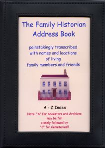Family history Address Book