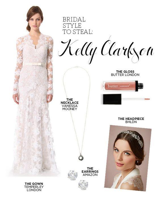 Kelly clarkson wedding style wedding wedding styles and for Kelly clarkson wedding dress replica