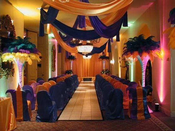 Image result for mardi gras wedding church