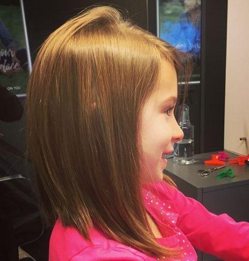 Little Girl Long Bob in 2019