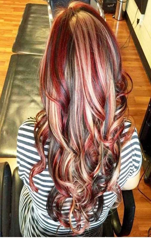 Beautiful Women New Hair Color Collection 2019 Red Brown