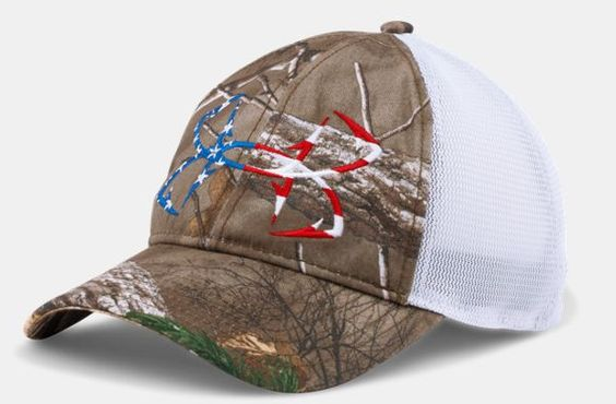 Under armour fish hook camo hat wishlist pinterest for Fish hook for hat