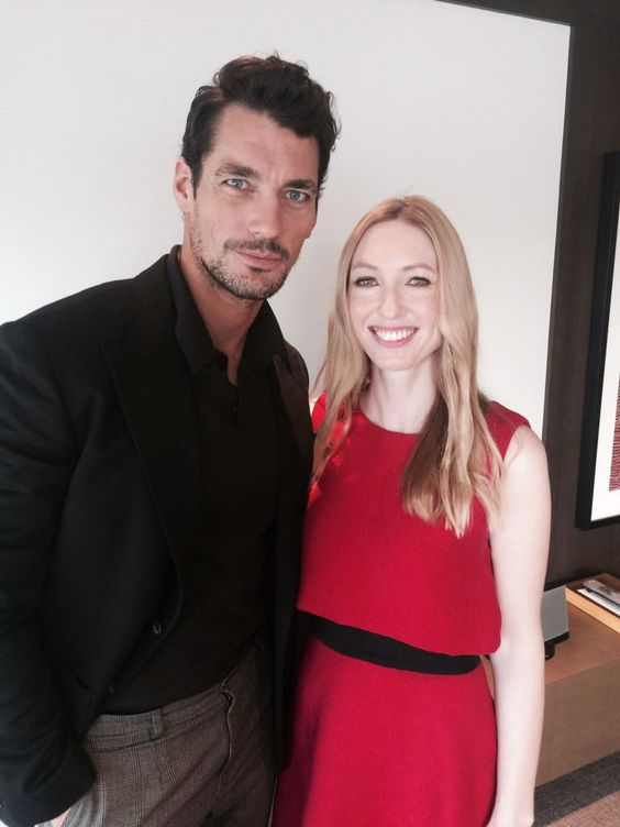 There are worse ways to start the morning than interviewing @DGandyOfficial. #davidgandy @dolcegabbana