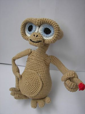 E. T. I had a stuffed animal like this one when I was younger and would love for Knox to have something like the original et that I had!