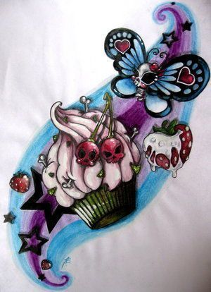 Rockabilly tattoos. Something about this is awesome!!