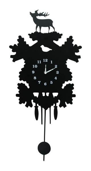 Clock mike d 39 antoni and urban barn on pinterest - Coo coo clock pendulum ...