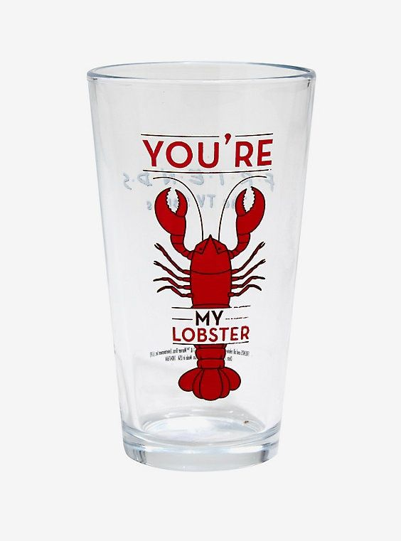 Love Valentines Day You/'re My Lobster Quote Sports Drinks Water Bottle