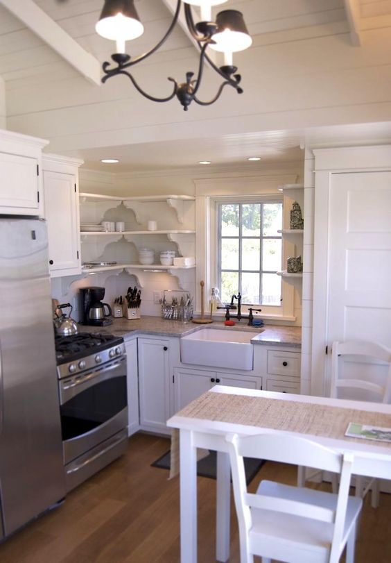 Tiny Home Designs: Love The Sink In This Small Coastal Cottage