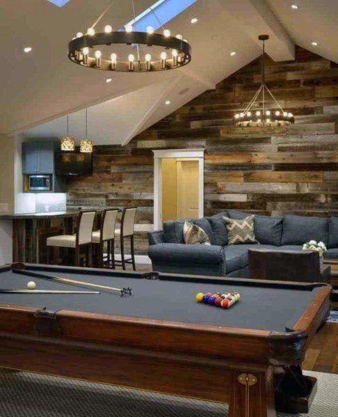 Top 50 Best Bonus Room Ideas Spare Interior Space Designs Garage Game Rooms Bars For Home Room Above Garage