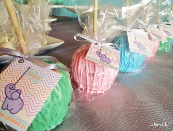 caramel candy apples desserts chocolate baby showers candy showers