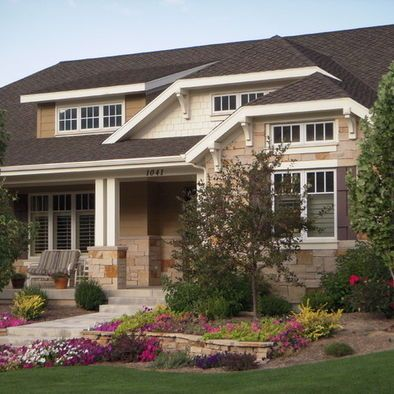 Exterior House Colors With Brown Roof Design, Pictures, Remodel, Decor and Ideas - page 4