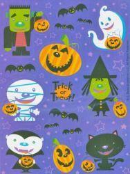 Groovy Ghouls Halloween Scrapbooking Stickers