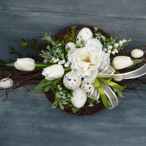 Velka Jarni Na Stul Easter Floral Easter Wreaths Easter Diy