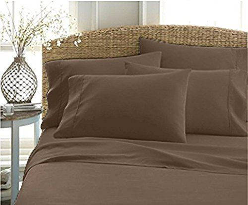 Authentic Heavy Quality Super Soft Bed Sheets 1200threadcount Egyptian Cotton 4pieces Sheet Set Fits 1011 Inch King Sheet Sets Soft Bed Sheets Sheet Sets Queen