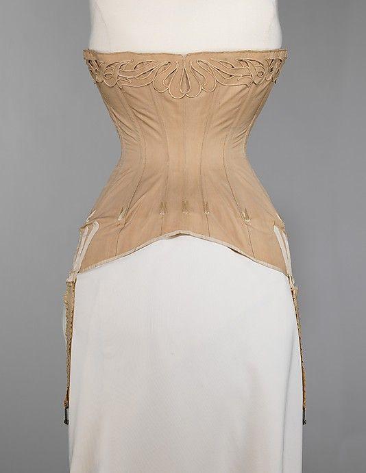 Corset, 1904-1906, Metropolitan Museum of Art