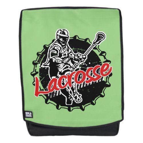 Lacrosse Backpack Zazzle Com Lacrosse Backpacks Lacrosse Lacrosse Workouts