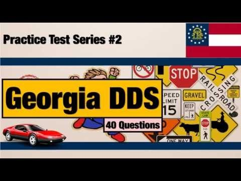 Drivers license GA Georgia DDS Practice Test Series #2