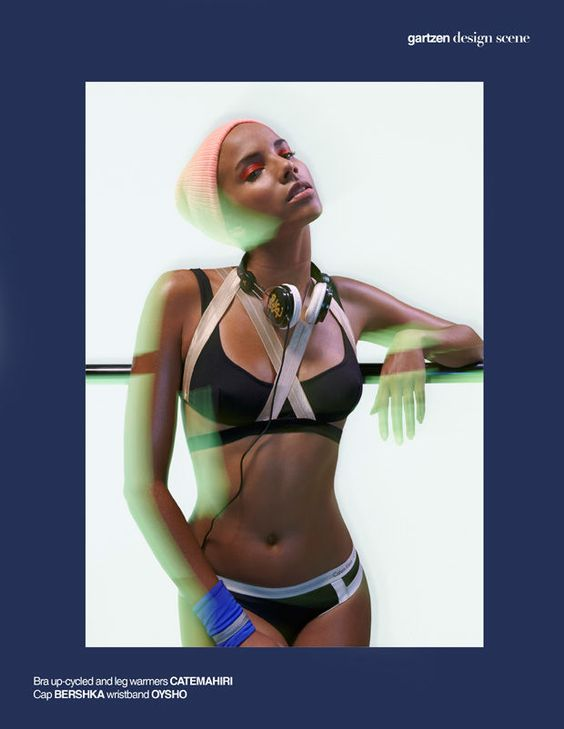 Design Scene's Keep Up The Beat Series Features Sporty Swimwear #athletic trendhunter.com