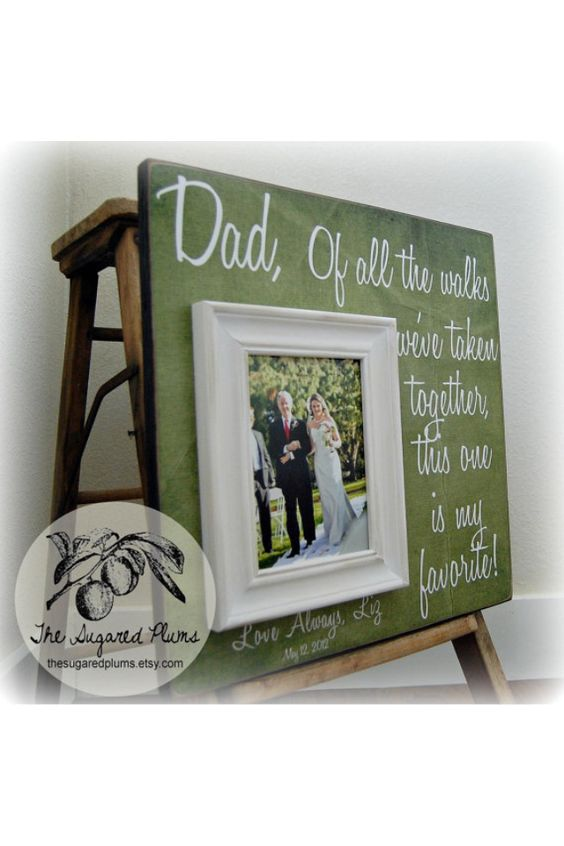 Wonderful father of the bride gift