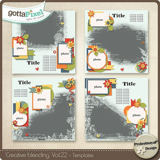 Creative blending Templates Vol.222 :: Gotta Grab It :: Gotta Pixel Digital Scrapbook Store by PrelestnayaP