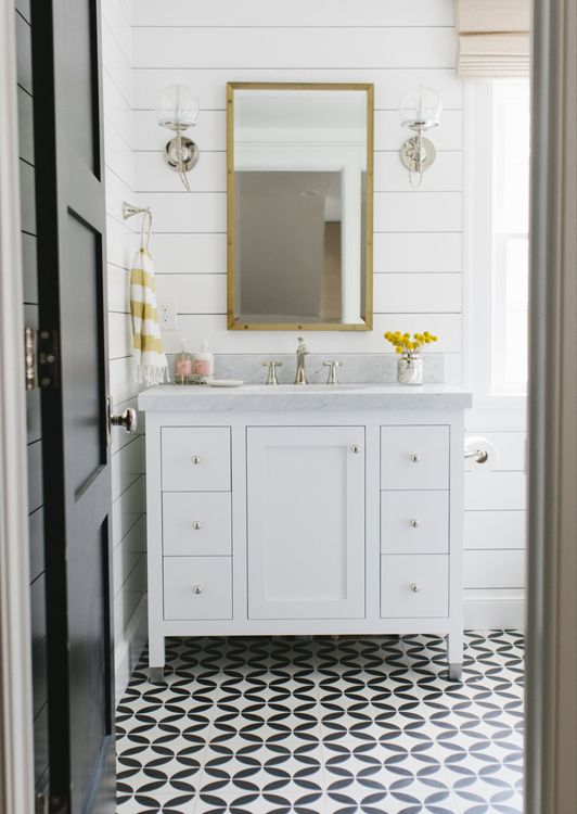 Studio Mcgee Shiplap Bathroom How to: