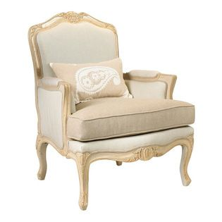 Frontgate Phoebe Wood Framed Chair Durable And