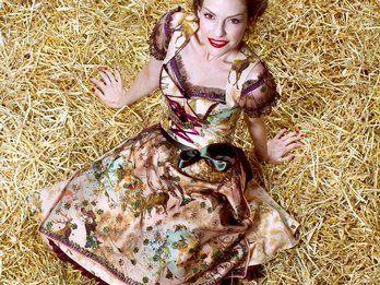 Lola Paltinger Dirndl Designer, Collection 2011  Lola Paltinger/Martin Nink/dpa/tmn