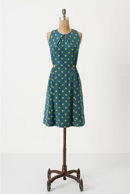 Anthropologie polka got dress, looks very fun and playful.