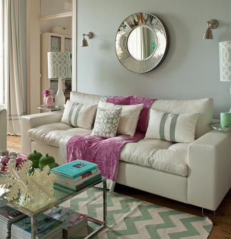 Home-Dzine - A home decorated in pastel shades  http://www.home-dzine.co.za/decor/decor-pastel-shades.htm#