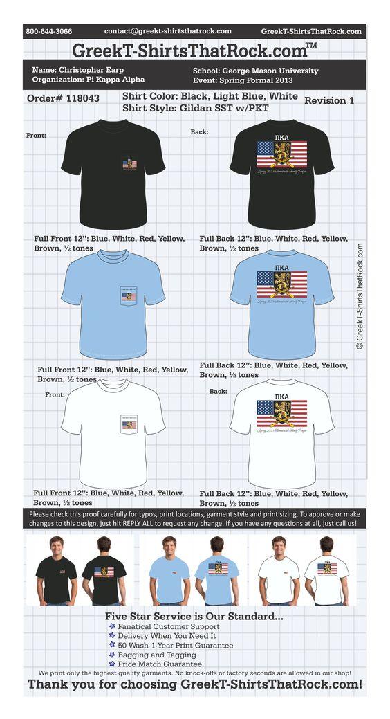 Pi Kappa Alpha T-Shirts Fraternity Rush #fraternityrush #pikappaalpha #pike