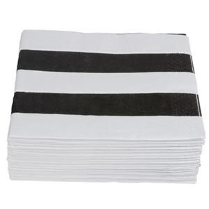 darling striped paper napkins