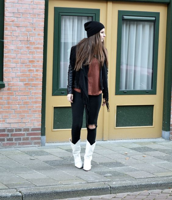beanies fashion outfit style