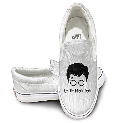 Gd Harry Potter Magic Oxford Unisex Flat Canvas Shoes Sneaker 42 White Walking Shoes Women Sneakers Men Fashion Sneakers Fashion
